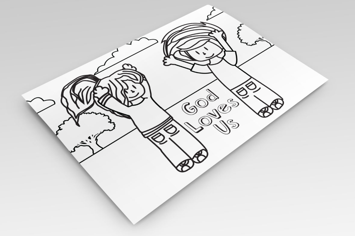 5 Steps To Worshipping God For Kids Coloring Pages - Vineyard ...