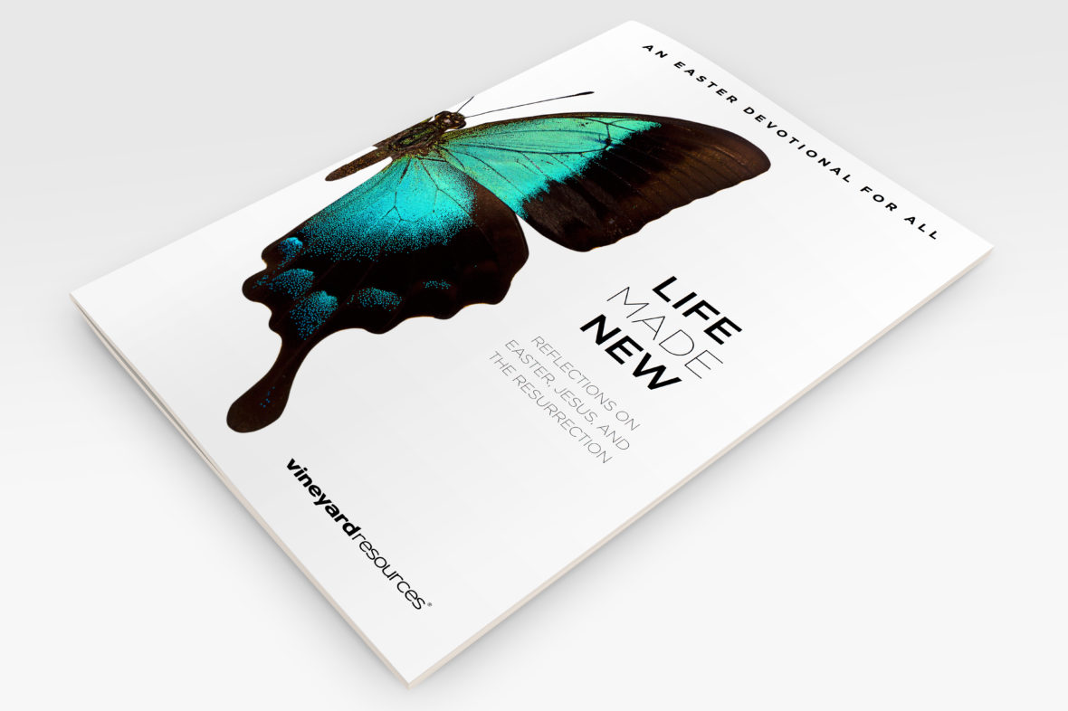 Life Made New - Easter Booklet - 3D mockup