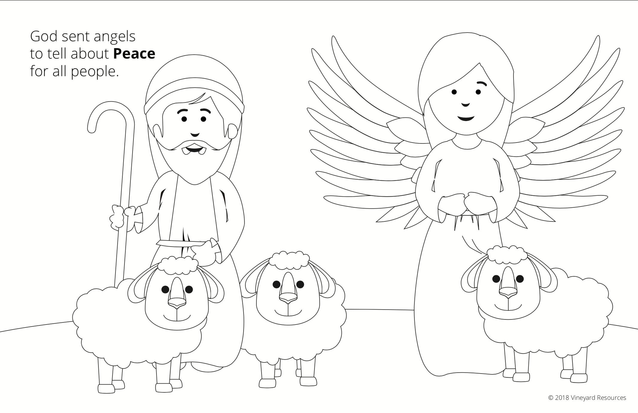 Vineyard Kids! Christmas Coloring Book - Vineyard Digital Membership