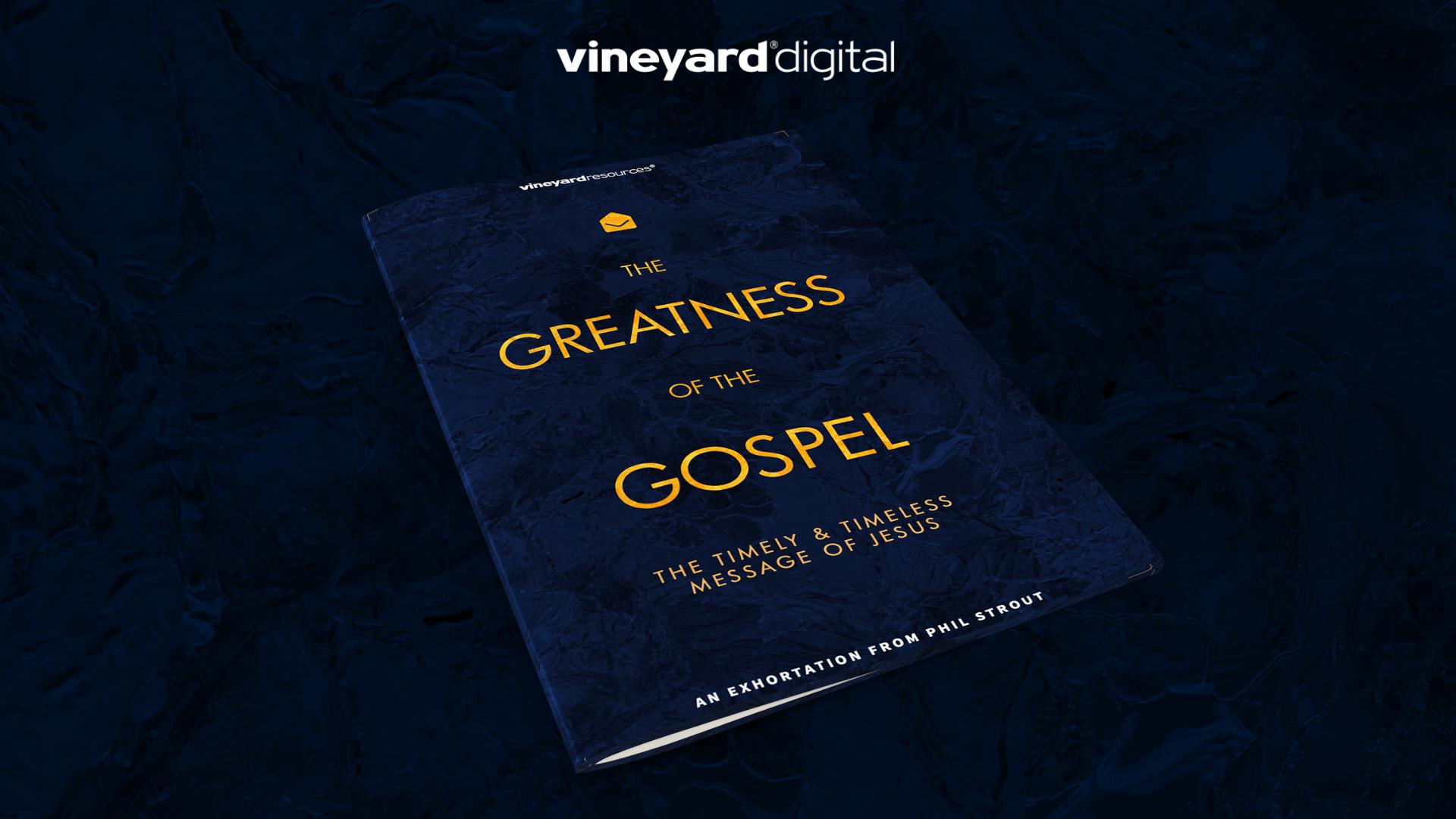 The Greatness Of The Gospel Blog Header
